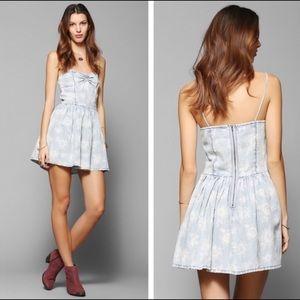 Urban Outfitters Sunflower Sweetheart Dress (XS)